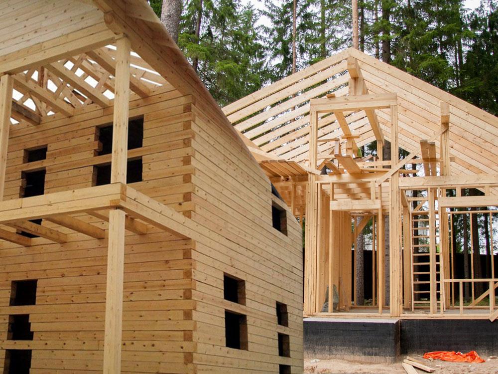Что лучше каркасный дом или из бруса: сравниваем, какой дом лучше, по технологическим качествам