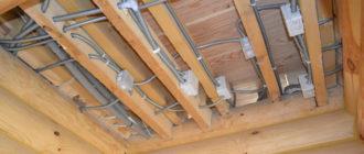 Как сделать проводку в деревянном доме: делаем скрытую проводку от щитка до точек потребления