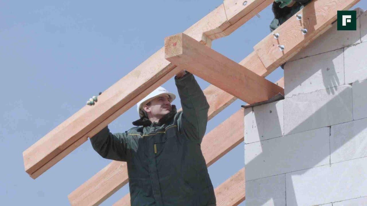 Мауэрлат для двухскатной крыши своими руками: делаем крепление мауэрлата двухскатной крыши по инструкции