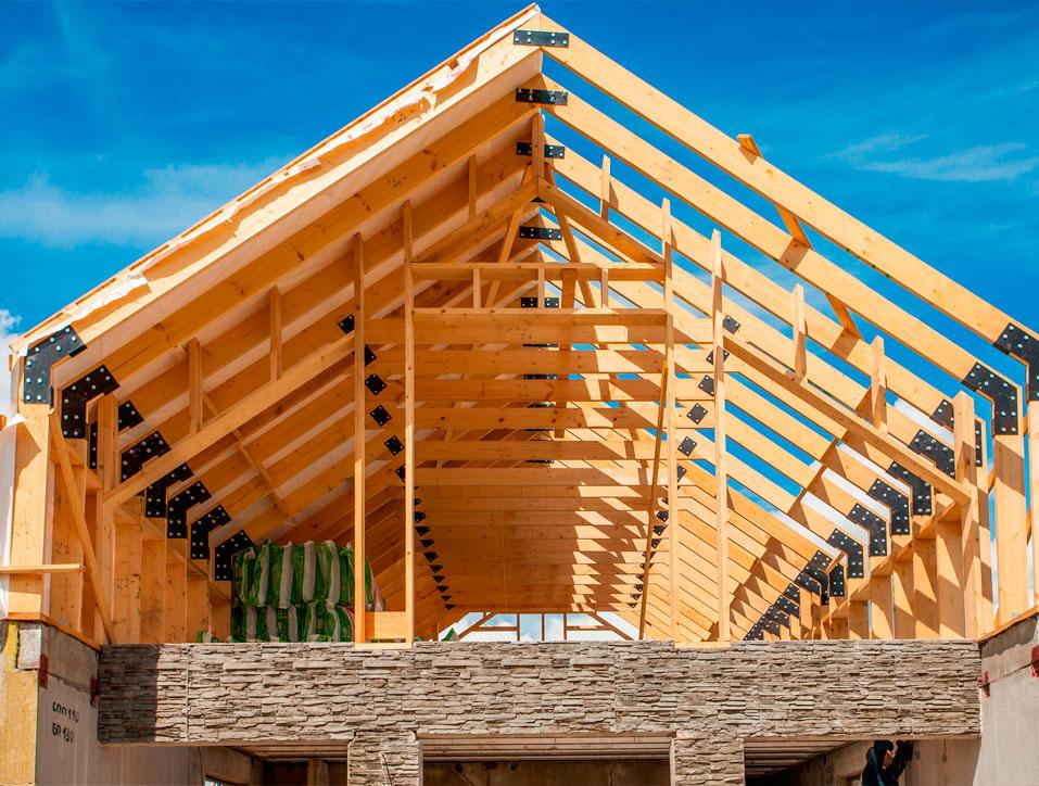 Строительство крыши частного дома своими руками: делаем монтаж пошагово