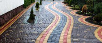 Укладка тротуарной брусчатки — выбор материала, схемы, пошаговая инструкция