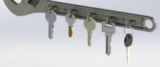 Уникальные держатели для ключей своими руками — просто, быстро и на удивление гостей