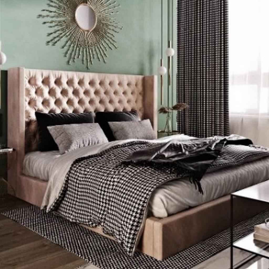 Изысканное изголовье кровати