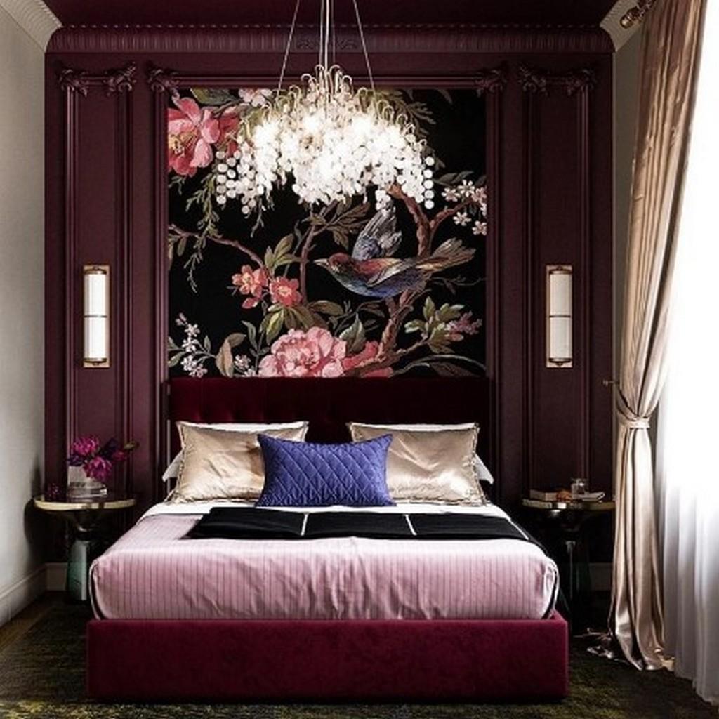 Классический дизайн проект спальни