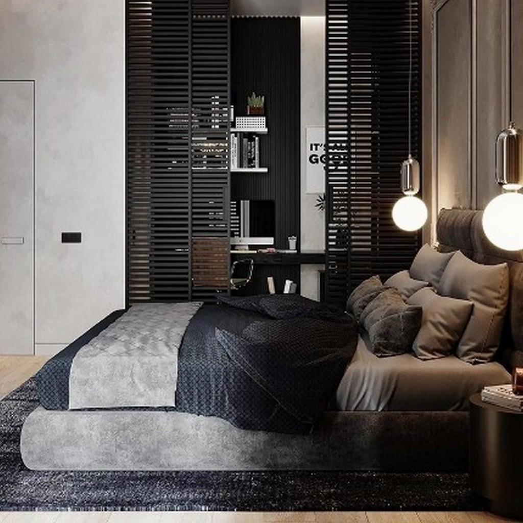 Дизайн проект спальни 18 кв. м