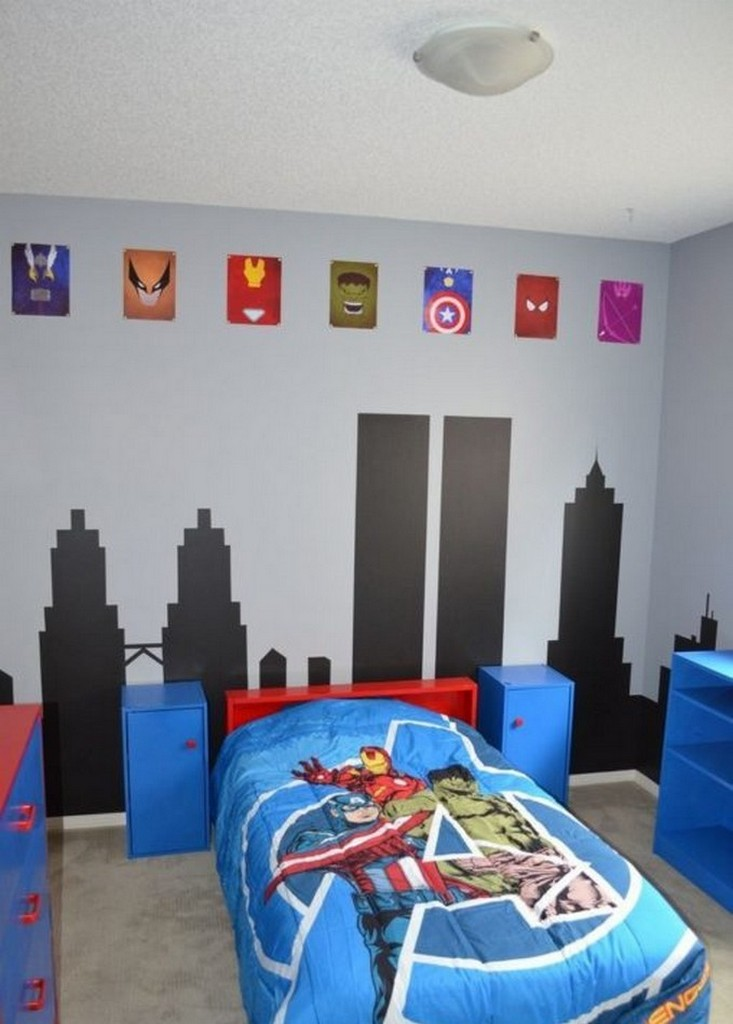 Дизайн тематической детской комнаты