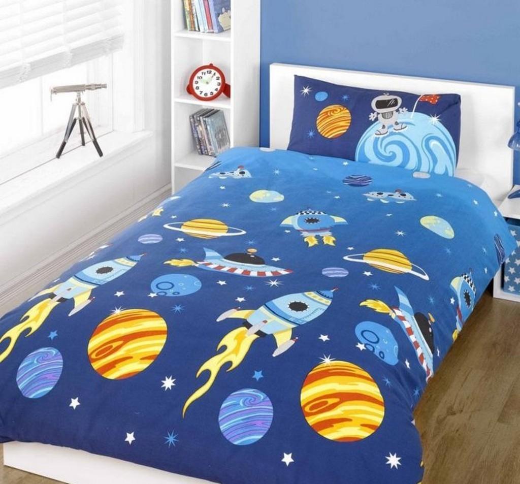 Дизайн детской комнаты - космос