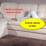 Как выбрать лучший диван. Фото, отзывы, полезные рекомендации